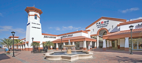 Prime Outlet Mall near Crescent Beach FL Hotels