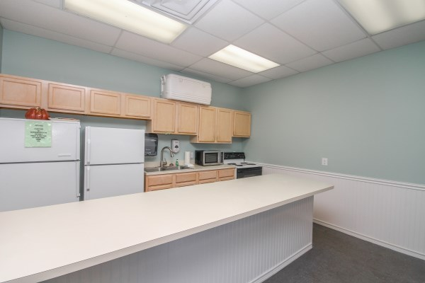 Hotel Group Rates Kitchen in Conference Room