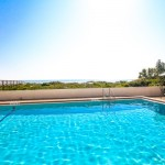 amazing pool views at Beacher's Lodge