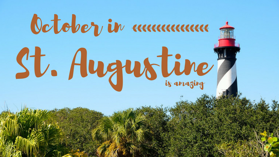 October in St. Augustine