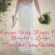 Spring Beach Wedding