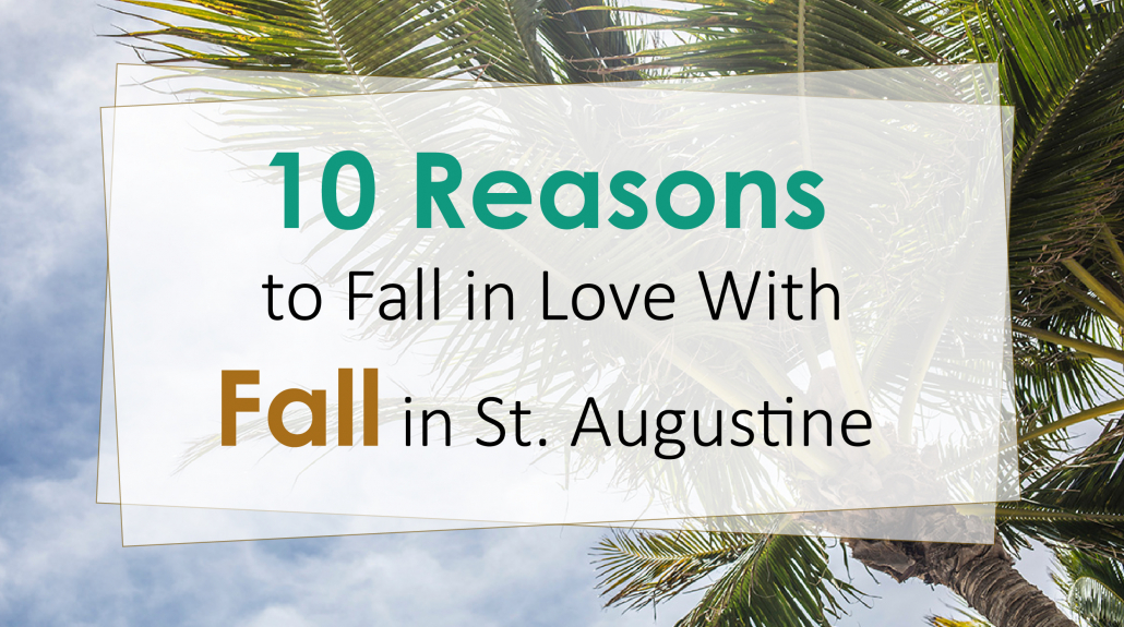 Fall in St. Augustine